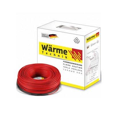 Кабель нагревательный Warme Twin cable 650 W, 3,6-5,4 м2